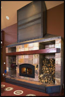 Fireplace by Archer Dream Homes