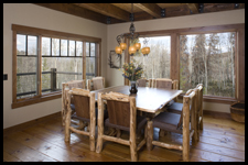 Dining Room by Archer Dream Homes